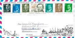 ESPAGNE Lettre Europa Rois Poste  Ysasi - Correo Postal