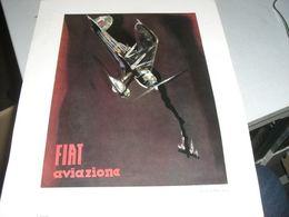 RIPRODUZIONE TAVOLA DI MARIO SIRONI -FIAT AVIAZIONE - Posters
