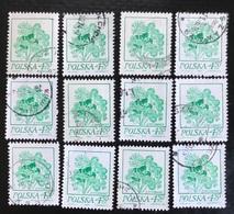 Polska - Poland - P2/4 - (°)used - 1974 - Michel Nr. 2302 - Bloemen 12X - Sellos