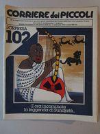 - CORRIERE DEI PICCOLI N 37 / 1979 - OTTIMO - Corriere Dei Piccoli