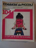 - CORRIERE DEI PICCOLI N 39 / 1979 - OTTIMO - Corriere Dei Piccoli