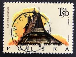 Polska - Poland - P2/4 - (°)used - 1974 - Michel Nr. 2303 - Houten Gebouwen - Sellos