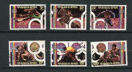 SENEGAL - JO DE MONTREAL 1976 - N° Yt  444/448 + PA 152 Obli. - Senegal (1960-...)
