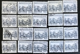 Polska - Poland - P2/4 - (°)used - 1974 - Michel Nr. 2351 - Houtgesneden Ontwerpen Uit De 16e Eeuw - 20X - Sellos