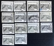Polska - Poland - P2/4 - (°)used - 1974 - Michel Nr. 2350 - Houtgesneden Ontwerpen Uit De 16e Eeuw - 14X - Sellos