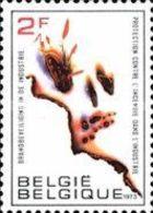 Belgium, 1973, Michel 1713, Fire Security, 1v, MNH - Feuerwehr