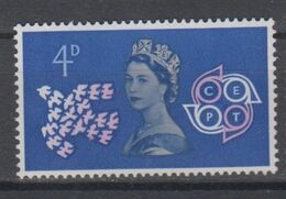 GREAT BRITAIN 1961 CEPT EUROPA - 1952-.... (Elisabetta II)