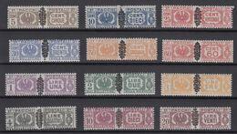 Italy 1945 Parcel Stamps - Michel 48-59 MNH ** - 5. 1944-46 Lieutenance & Umberto II