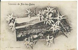 AIX-LES-BAINS     ( SAVOIE )    SOUVENIR D ' AIX-LES-BAINS - Gruss Aus.../ Grüsse Aus...
