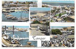 SOUVENIR DE TANGER - Multivues - Ed. JEFF / Robert DIRENN N° 534 Colorisée - 1960 - Tanger
