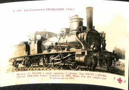 030 000 - CPSM - Thèmes - Les Locomotives Française - Machine N°030-844 - Trains
