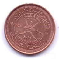 OMAN 2015: 10 Baisa - Oman