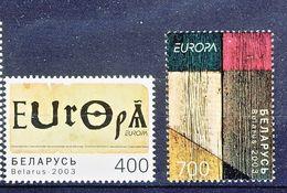 Wit Rusland 2003 - CEPT Nrs 488 -489 ** - 2003