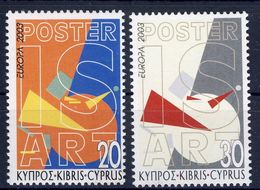 Cyprus 2003 - CEPT Nrs 1013 -  1014 ** - 2003
