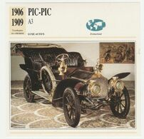 Verzamelkaarten Collectie Atlas: PIC-PIC A3 - Cars