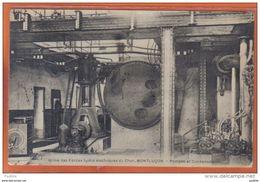 Carte Postale 03. Montluçon Usine Des Forces Hydro-électriques Du Cher Pompes Et Condensateurs   Trés Beau Plan *RARE* - Montlucon