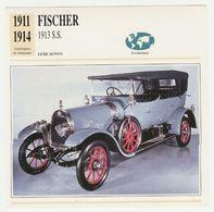 Verzamelkaarten Collectie Atlas: FISCHER S.S. 1913 - Cars