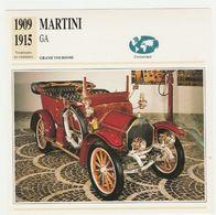 Verzamelkaarten Collectie Atlas: MARTINI GA - Cars