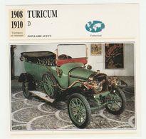Verzamelkaarten Collectie Atlas: TURICUM D - Cars