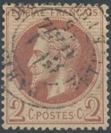 [41159]TB//O/Used-N° 26, Obl Bien Lisible C.à.d 'Paris / Petite Rue Du Bac' Le 1er Avril 1865, Rare - 1863-1870 Napoléon III Lauré