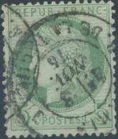 [41222]TB//O/Used-N° 53, Belle Obl C.à.d 'Paris / R. De La Tacherie' - 1871-1875 Cérès