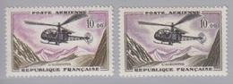 PA 41 X 2 Couleurs Différentes (Alouette), Neuf **. - 1927-1959 Ungebraucht