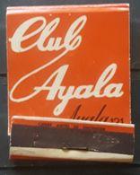 CLUB SEX AYALA. CAJA DE CERILLAS VINTAGE. - Scatole Di Fiammiferi