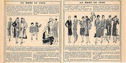 La Mode En 1929. Stampa 1930 - Prints & Engravings
