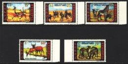 "1980-(MNH=**) Etiopia S.5v. ""Animali In Pericolo"" - Ethiopie"