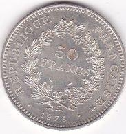 50 FRANCS  HERCULE   1976    EN ARGENT - France