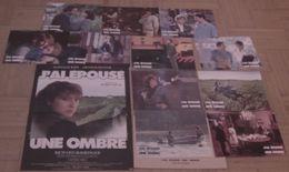 AFFICHE CINEMA ORIGINALE FILM J'AI EPOUSE UNE OMBRE + 11 PHOTOS EXPLOITATION BAYE HUSTER DAVIS HALLYDAY 1983 TBE - Affiches & Posters