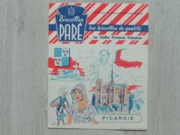 Biscotte Paré - Série Les Vieilles Provinces Françaises - Picardie - Carte Assorbenti