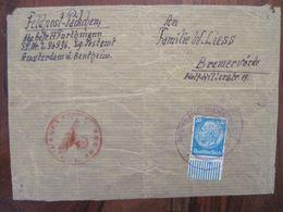 Feldpost Päckchen Feldpostnummer 36336 Nederland Reich Allemagne Hollande Kompanie Luftnachrichten - Besetzungen 1938-45