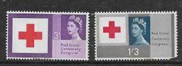 Great Britain EIIR, 1963 Red Cross, Phosphor 3d, 1/3, MNH ** Faults - 1952-.... (Elisabetta II)