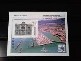 España Año 2006 Prueba De Lujo MNH - Exfilna 2006 - Sin Fijasellos Spain Espagne - 1931-Heute: 2. Rep. - ... Juan Carlos I