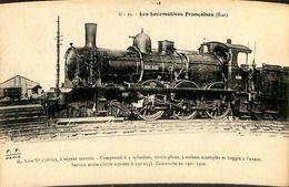 030 028 - CPSM - Thèmes - Les Locomotives Française - Machine N° 230-042 - Trains