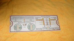 ANCIENNE REGLE A CACUL ATELIERS D'APPAREILLAGE ELECTRIQUE STRASBOURG. B.S.G.D.G. N°566 / 655..MONTAGE TUBULAIRE, INTENSI - Altri