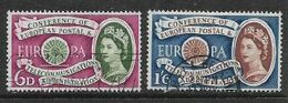 Great Britain EIIR, 1960 Europa, 6d, 1/6, Good Used - Used Stamps