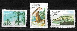 BRASIL Nº 1151 AL 1153 - Reptiles & Amphibians