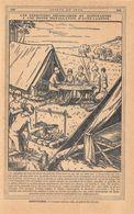 Une Bonne Installation D'una Auto Camping. Stampa 1930 - Prints & Engravings