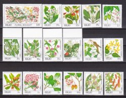 """1987/8-(MNH=**) Palau S.17v.""""fiori"""" - Palau"""