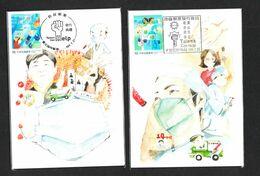 Maximum Card: Taiwan R.O.CHINA 2020 COVID-19 Type 1 - Disease