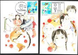 Maximum Card: Taiwan R.O.CHINA 2020 COVID-19 Type 2 - Disease
