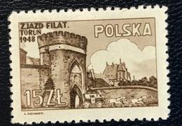 Polska - Poland - P2/5 - MNH - 1948 - Michel Nr. 502 - Filateliecongres In Torun - 1944-.... Republic
