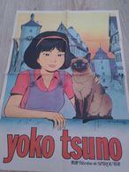 Un Poster Encart Revue Spirou  Supplément N° 2012 Année 1976 Yoko Tsuno    Héros  Du Journal Spirou  Autre Face Bressac - Spirou Magazine