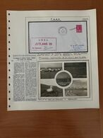 Pli Commémoratif Du Chalutier JUTLAND III Signé Du Capitaine  ( Descriptif General Voire SCAN ) - French Southern And Antarctic Territories (TAAF)