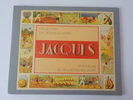 Ancien Grand Album Chocolat Jacques Images Chromos Les Sports Illustrés Boxe Tennis Football Cyclisme ... - Jacques