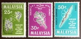 Malaysia 1965 SEAP Games MNH - Malaysia (1964-...)