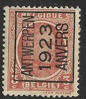 Antwerpen 1923  Typo Nr. 77A Papier Rest - Sobreimpresos 1922-31 (Houyoux)