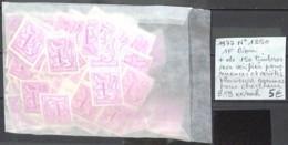 NB - [850433]B/TB//**/Mnh-Belgique 1977 - N° 1850, 1f Lion + De 150 Timbres Non Vérifiés Pour Nuances Et Variétés Plusie - Unused Stamps